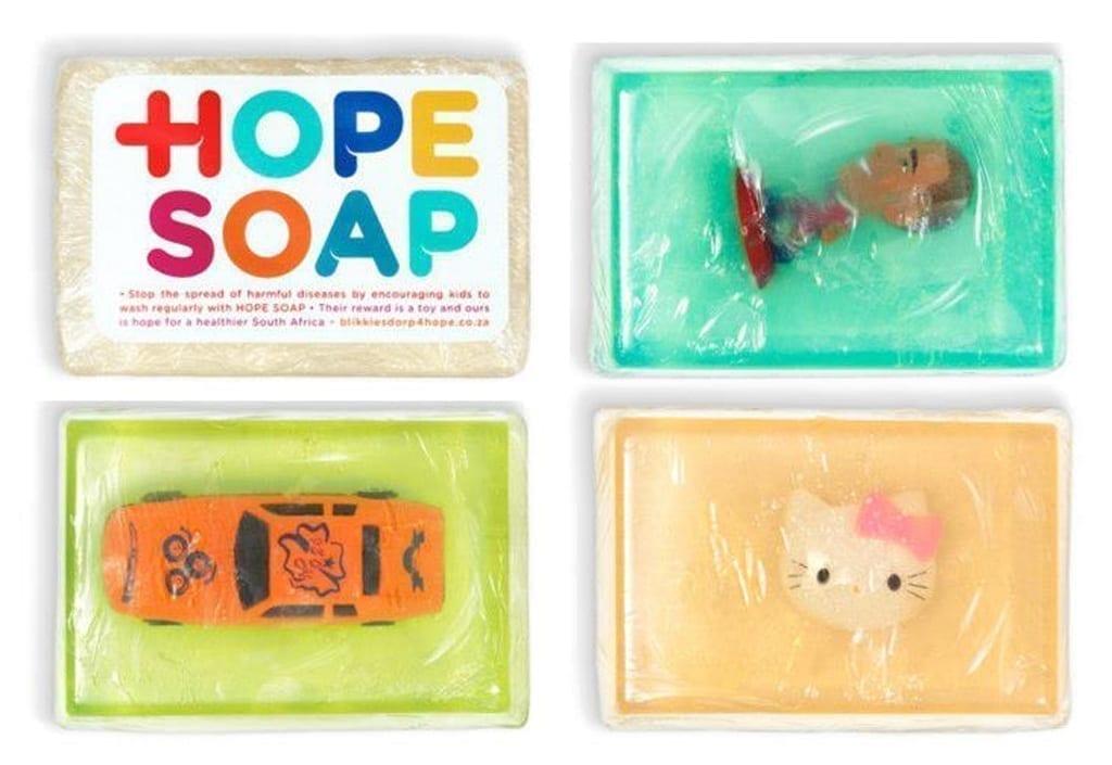 Мило з іграшкою спонукає дітей ретельно мити руки з милом